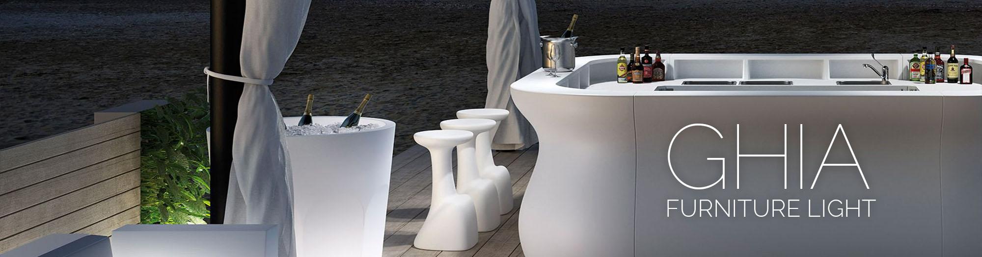 Svjetleći namještaj Ghia Furniture