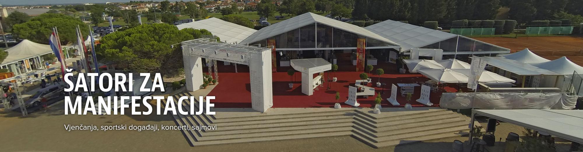 Šatori za evente i manifestacije