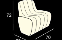 fotelja jetlag light za najam