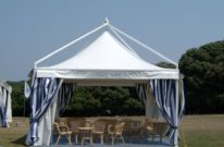 Gazebo leader 5 x 5 za najam, barbieri