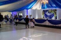 plesni podij za najam